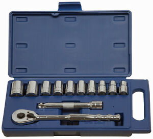 "Williams 50669 12pc 1/2""Dr,12mm-24mm Shallow Supertorque®Sockets & Dr Tools Set"