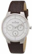 Skagen Men's 331XLSL1 Jonas Dark Brown Leather Watch