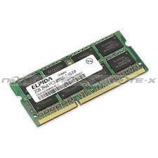 Elpida 2gb ddr3 ram pc3-8500s 1066mhz ebj21ue8bau0-ae-e pour pc portables