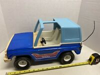 VINTAGE Tonka Bronco 835TR Large Blue T-Top 1970s Pressed Steel Toy Truck