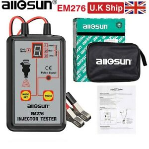 All-Sun EM276 Injector Tester 4 Pluse Mode Powerful Fuel System Scan Tester Tool