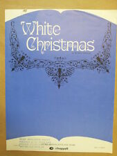 song sheet WHITE CHRISTMAS Irving Berlin