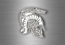 Sticker decal tuning car motorcycles spartan molon labe warrior helmet dragon