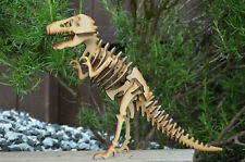 T REX DINOSAUR SKELETON MODEL laser cut self assembly Tyranosaurus Rex wood toy