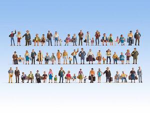 Noch 46070 Voie Tt, Mega-économie Kit Figurines # Neuf Emballage D'Origine ##