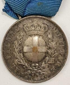 LERO DODECANNESO GRECIA 1943 MEDAGLIA VALOR MILITARE CLASSE ARGENTO NO ZECCA