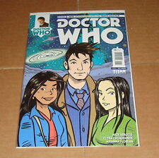 2014 Doctor Who Tenth 10th Dr #15 Nick Abadzis 1:10 Variant Edition 1st Print