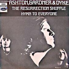 ++ASHTON, GARDNER & DYKE the resurrection shuffle/hymn to everyone SP 1971 NM++