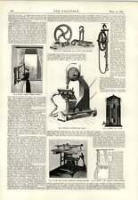 1893 Injector Reservoir Drawing Pen Tyler Ellis Carving Machine Freyer Filter