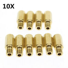 High Quality 10Pcs Motorcycle ATV Main Jet For Carburetor Size 178-200