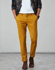 Joules Mens The Laundered Chino Slim Fit Trousers - GOLD FINCH Size W36-L32