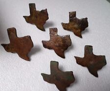 Rustic Western Ranch Texas State Hardware Furniture Drawer Pulls  Metal 3""