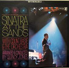 Frank Sinatra at the Sands LP 2x vinyl Records M- 2FS1019 RARE in concert