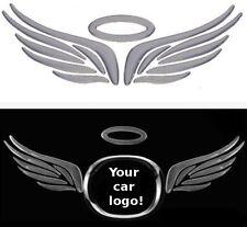 3D Flügel Engelsflügel Angel Auto Aufkleber Sticker Emblem chrom silber VW BMW