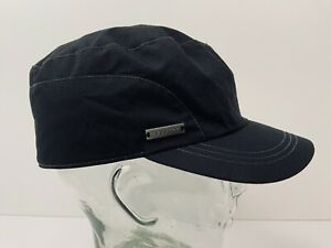 Ski-Doo Hat Patrol Cap Size Large Fleece Lined Accent Stitching Metal Logo EUC