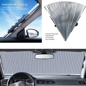Foldable Auto Car Windshield Sun Shade Front Rear Window Anti-UV Cover Cuttable