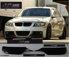 Frontlippe Flaps Frontspoiler BMW E90 E91 M-PAKET 05-08Bj. + Kleber