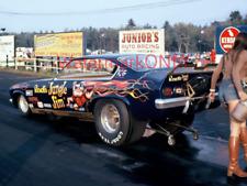 """""""Jungle Jim"""" Liberman & """"Pam"""" '73 """"Revell"""" Chevy Vega NITRO Funny Car PHOTO! #12"""