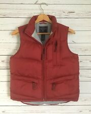 American Eagle Outfitters Womens Deep Red Puffer Down/Feather Vest Size Small