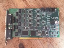 LYNX STUDIO TECHNOLOGY AES16 PCI 16CH AES/EBU AUDIO CARD