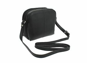 Visconti Leather Small Shoulder Bag Style 18939