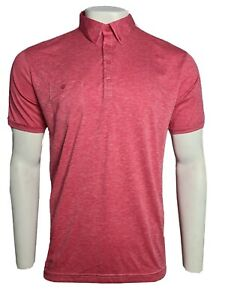 Ping Karsten Golf Polo T Shirt Pomegranate Size Large