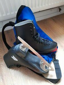 Men's Figure Ice Skates size 8 Black