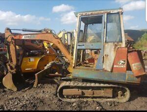 Kubota Kh66 Mini Digger Excavator Dismantling For parts!! Dipper ram only