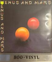 PAUL McCARTNEY -WINGS -Venus And Mars ORIG VINYL LP  IN ORIG SLEEVE Vg+