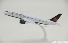 20CM AIR CANADA BOEING 787 Passenger Airplane Metal Plane Diecast Aircraft Model