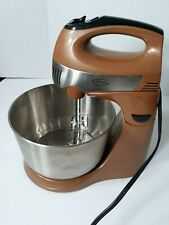 Ginny's Brand 5 Speed Stand Mixer Kitchen Brown Colored