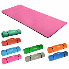 Yogamatte Gymnastikmatte Fitnessmatte183x80x1,5cm Rosa 100% schadstofffrei! NEU