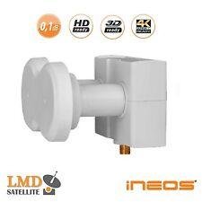 Monoblock LNB Single iNEOS HD 4,3° 0,1dB ASTRA 19,2+23,5 or 23,5+28,2 SKYLINK