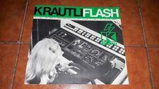 KRAUTLI FLASH N. 3 1973 PERIODICO TECNICO INFORMATIVO BROCHURE AUTO BARCA YACHT