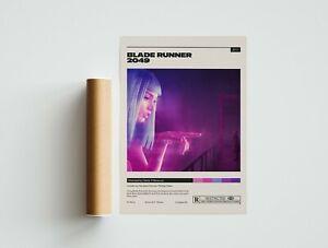 Blade Runner 2049 Poster - Denis Villeneuve - Minimalist Movie Poster - Vintage