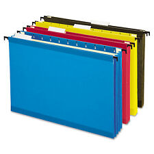 Pendaflex Hanging Pocket Files 3 1/2 Inch Expansion Letter Assorted 4 per pack