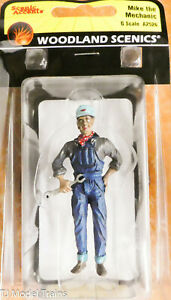 Woodland Scenics G-Scale #2526 Mike the Mechanic (Hand Painted)