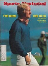 JACK NICKLAUS Sports Illustrated magazine June 1972 Golf US OPEN EX
