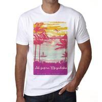 Al-jazira Mogadishu Escape to paradise Herren T-shirt Weiß Geschenk 00281