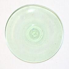 Glasbutzen 10cm hellgrün - mundgeblasen Butzenscheiben Tiffany Glass Rondel B14