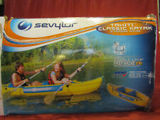 Sevylor Tahiti Classic Inflatable Kayak 2-Person [ LAST ONE ] Holds up to 400lbs