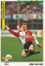 028 JOHN VAN LOEN FEYENOOR NETHERLANDS VOETBAL CARD 94 PANINI