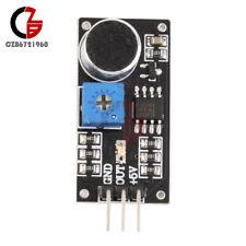 2PCS LM393 Microphone 0.5M Induction Distance Sound Sensor Dectection Module