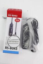 RS-80N3 Timer Remote Controller5D2 5D3 5D4 5D 5DS 5DSR 6D 7D 7D2 50D