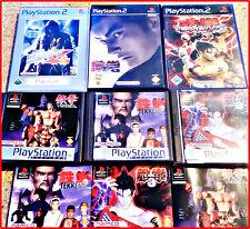 SONY PS2 / PSX ALLE 6 TEKKEN GAMES VON NAMCO IN EINEM PAKET  *KULT*-1,2,3,4,5