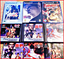 SONY PS2/PSX TUTTI 6 TEKKEN Games von NAMCO UNO pacchetto CULTO -1,2,3,4,5