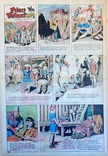Prince Valiant by Hal Foster - scarce full page Sunday comic - January 25, 1970