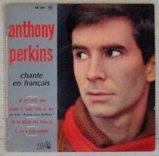 Anthony Perkins 45 tours Boris Vian