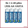 Piles batons Varta alcalines LR06 AA High Energy, livraison rapide et gratuite