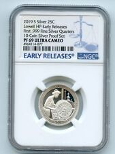 2019 S 25C Silver Lowell Quarter NGC PF69UCAM Early Releases